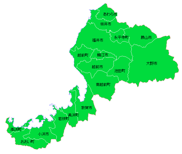 地籍調査状況マップ-福井県|地...