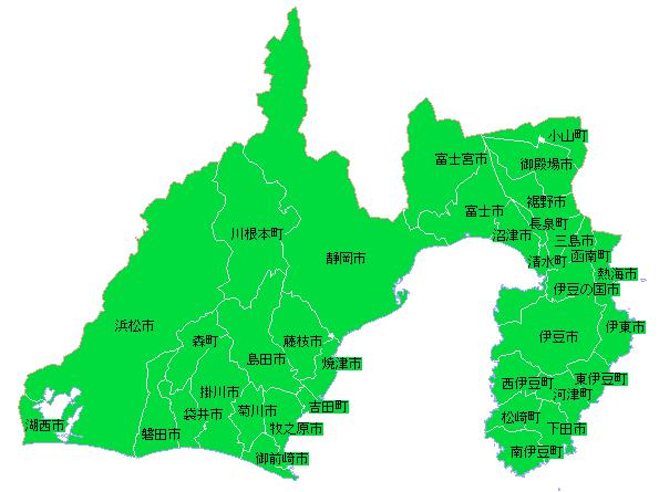 地籍調査状況マップ-静岡県|地...