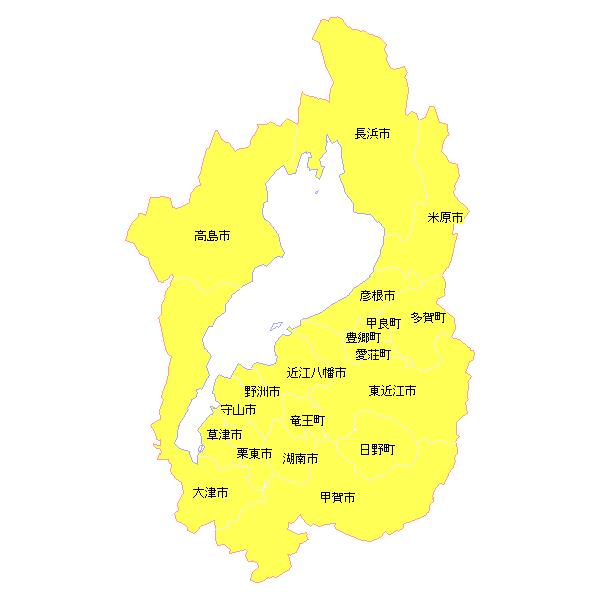 地籍調査状況マップ-滋賀県 ... : 地図 都道府県 : 都道府県