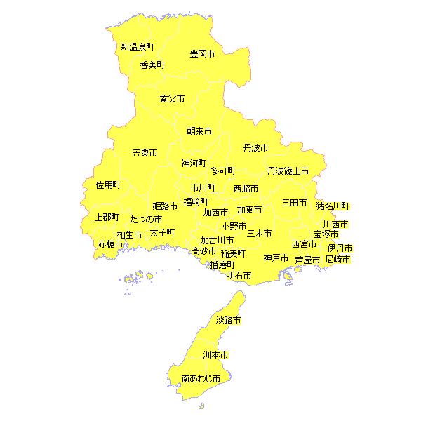 地籍調査状況マップ-兵庫県 地籍調査Webサイト